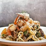 Our specials change every day! This was our Prawn Linguine