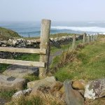 The official beginning of the trail if you start in Doolin.