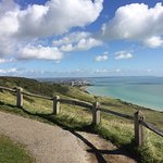 Looking east towards Eastbourne