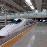 High Speed Train from Shanghai to Yichen