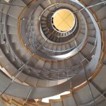 Spiral staircase inside