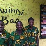 Bwindi Bar staff