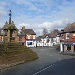 Beautiful historic Lymm village