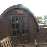 our lovely cosy pod