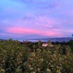 coucher de soleil vue chambre 10