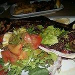 The steak!
