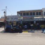 beautiful greek taverna
