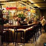 Notre célèbre bar à cocktails...