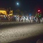 Horse ride show
