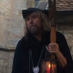The Night Watchman with his Horn, Lantern & Hellebarde
