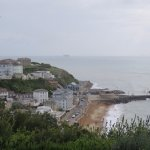 Ventnor beach from the gardens