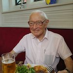 Another enjoyable meal..great service and well cooked steak..the after photo of dad (aged 95 and
