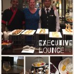 Executive floor and great staff