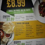 2 mains meals for £8.99 (Mon-Fri 12 noon - 6pm) - Amazing Value