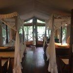 Twin tent! Beautiful!