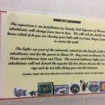 Comedy notice in bathroom