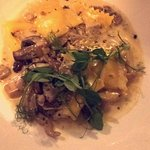 Would highly recommend the truffle agnoli pasta with wild mushrooms, in brandy cream sauce!