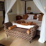 romantic huge bed