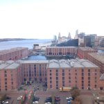 Liverpool, Albert Dock, from the Wheel of Liverpool
