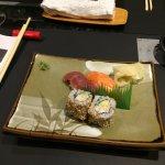 Sushi en entrée