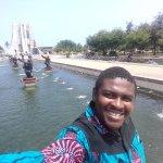 At the Kwame Nkrumah Park
