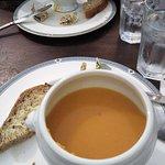 Sopa de calabaza especiada buenísima