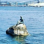 Girl in a Wet Suit Statue