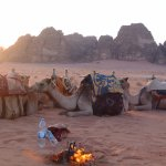 Sunset at Wadi Rum