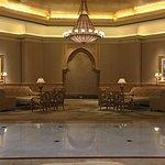 Lobby seating.