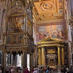St. John Lateran Basilica: # 5: Cross view of Main Altar