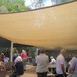 Riverside picnic site