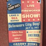 Delaware City Day...reserved seating prices