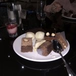 The yummy desserts