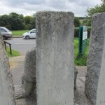 Detail of the rear of the Tolpuddle Martyrs' Memorial