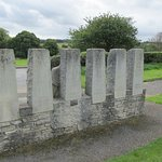 The rear of the Tolpuddle Martyrs' Memorial