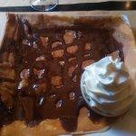 La froment chocolat chantilly !!!! Que dire ??? Rien sinon se laisser aller à la dégustation :-)