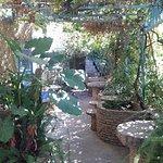 les chambres sur le jardin