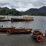 A wonderful boat trip on Derwent water