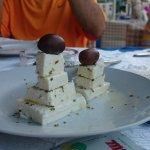 cheese pyramid