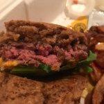 My raw burger