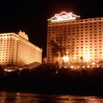 Harrah's from the water taxi