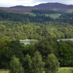 View across the Loch from the path to Dunkeld.