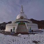 Shanti Stupa in Winter: January
