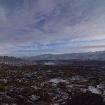 Winters in Leh. View from Shanti Stupa