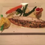 outstanding Dover Sole Meuniere w/veggies and whipped potatoes