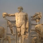 actual sculptures from the pediment 1