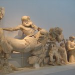 actual sculptures from the pediment 2