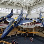 Blue Angel suspended display