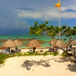 Coba Beach to get here you must take a cart