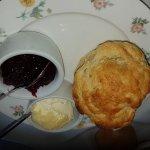 Fantastic scones and clotted cream